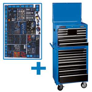 "Draper 26"" Mechanic's Mega Kit Tool Roller Trolley With 700 Tool Pieces £1,800 Delivered @ Homebase"