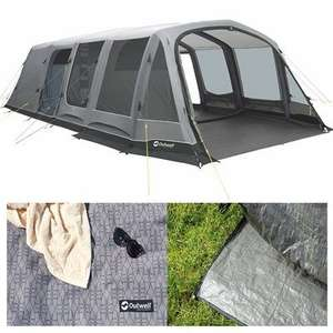 OutwellBelleville 7SA Air Tent Package Deal £799.99 @ Camping World
