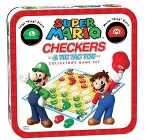 Usaopoly super mario checkers & tic tac toe collector's edition £10.55 delivered @ Magic madhouse