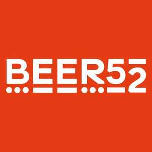 8 beers for £4 delivered @ Beer52 for Halifax customers (with pos. £12 cashback)