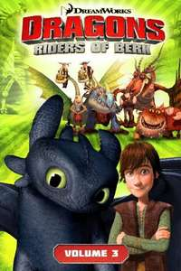 Dreamworks' Dragons Riders Of Berk: Volume 3 Graphic Novel only 99p plus £1.00 delivery perfect stocking filler for kids @ Forbidden Planet