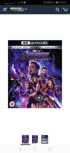 Avengers: Endgame/Toy Story 4 - 4K in 2 for £30 at Amazon