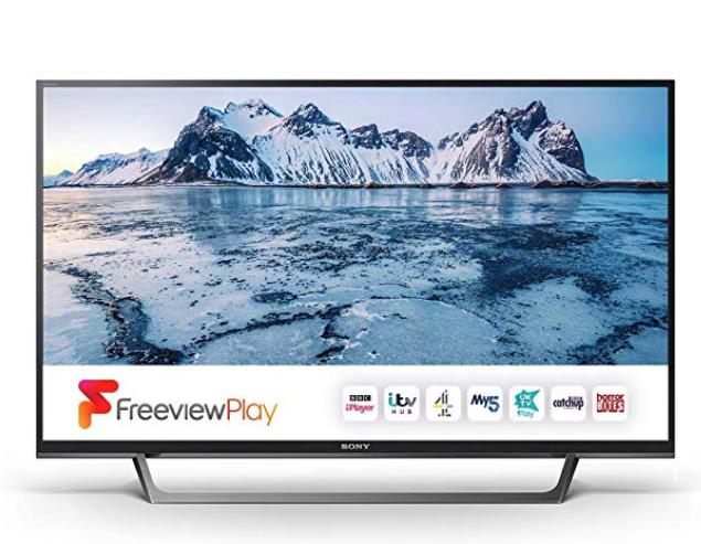 Sony Bravia KDL32WE613BU (32-Inch) HD Ready HDR Smart TV £199 @ Amazon