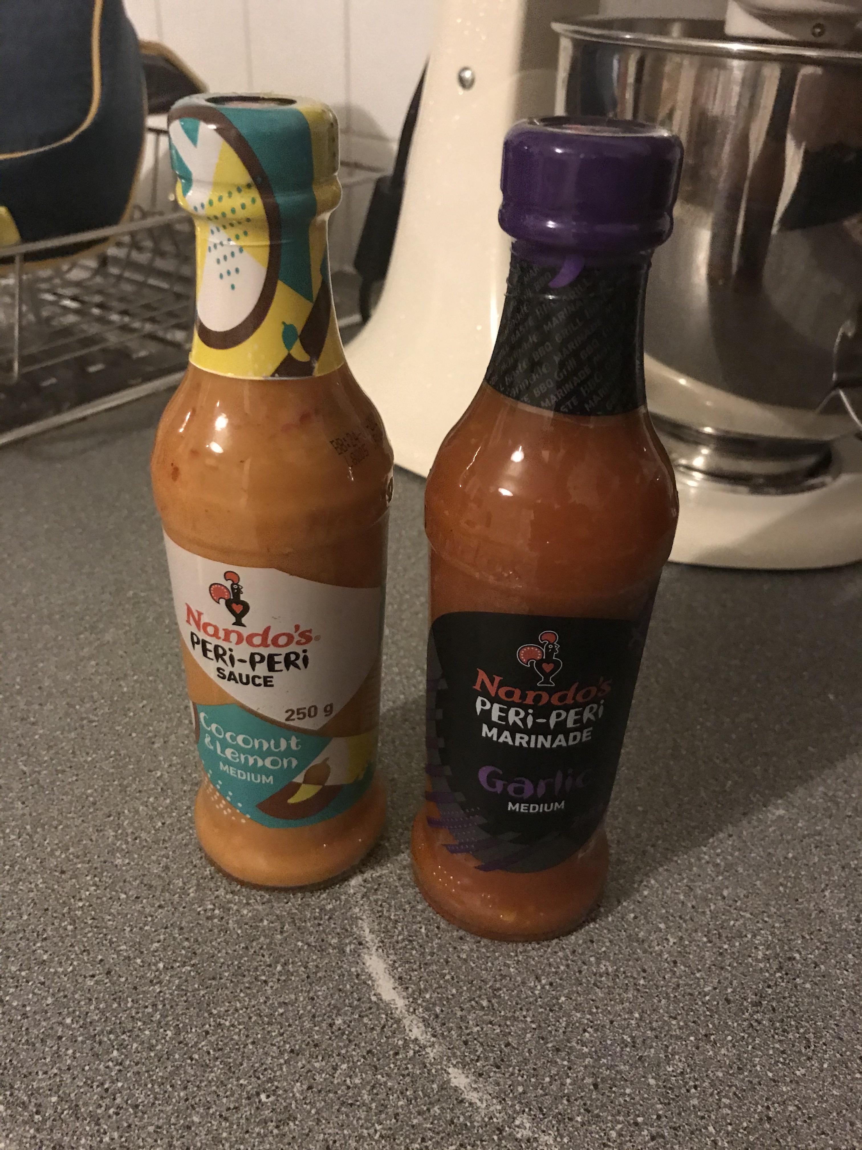 Nando's Sauce £1 - Poundland