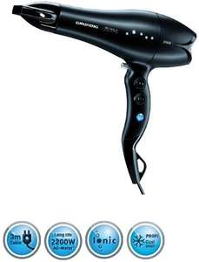 Grundig HD 8280 Keratin Ionic Ceramic Hairdryer, 2200W Volume Diffuser £9.23 (V Good)/£9.72 (Like New) (+£4.49 Non-Prime) @ Amazon Warehouse