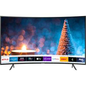 """Samsung UE55RU7300 55"""" Smart 4K Ultra HD TV with HDR10+, Apple TV and Slim Design @ AO only £427"""