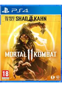 Mortal Kombat 11 - including Shao Kahn DLC (PS4) £17.85 @ Base