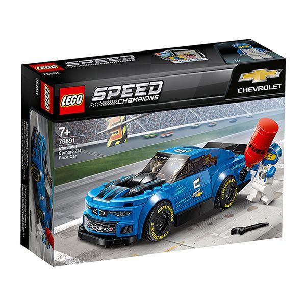 Lego Speed Champions Chevrolet Camaro ZL1 Race Car 75891 - £8.50 @ Sainsbury's