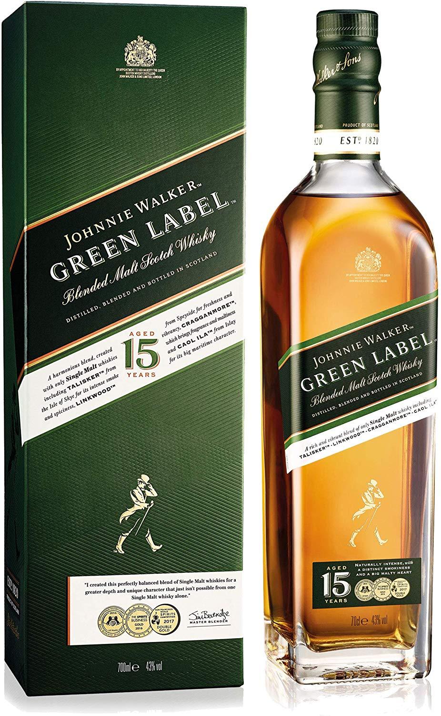 Johnnie walker Green Label - 70cl - £28.99 @ Amazon