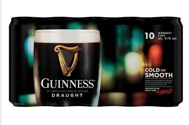 Guinness 10 pack -2 for £16 (£8 each) @ Morrisons