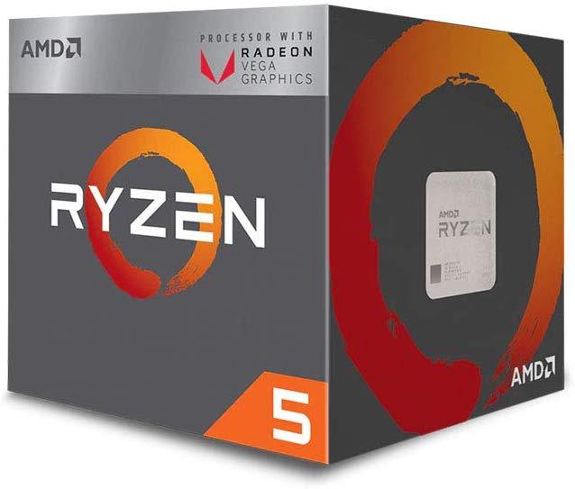 AMD Ryzen 5 3400G Processor (4C/8T, 6MB cache, 4.2GHz Max Boost) with Radeon RX Vega 11 Graphics £119.87 @ Amazon
