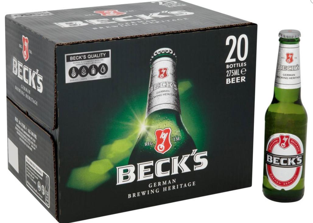 Becks 20x275ml for £9.99 (4.8%) @ Lidl Leyland