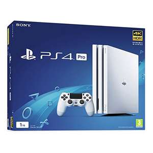 Sony PS4 Pro 1TB White £279.99 from Monster-Shop with Free Delivery