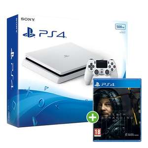 Sony PS4 Slim 500GB White + Death Stranding £199.99 from Monster-Shop with Free Shipping