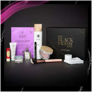 The Black Friday Edit Lookfantastic Beauty Box (Worth over £120) Only`£18.00 Free Delivery @ Look Fantastic