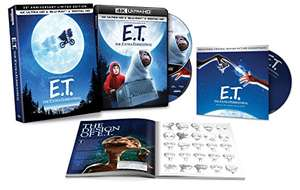E.T. 35th Anniversary Ltd Edition [4K UHD + Blu-ray] + Book + CD Soundtrack - £13.68 delivered @ Amazon US