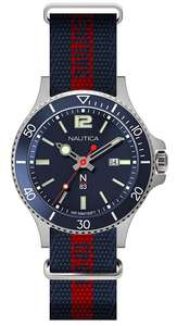 Nautica N83 Men's Accra Beach Watch - £33.31 @ Amazon