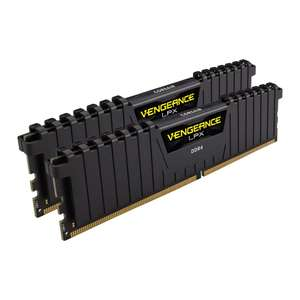 Corsair Vengeance LPX Black 32GB (2x16GB) 3200MHz DDR4 Memory Kit £114.99 delivered at Scan