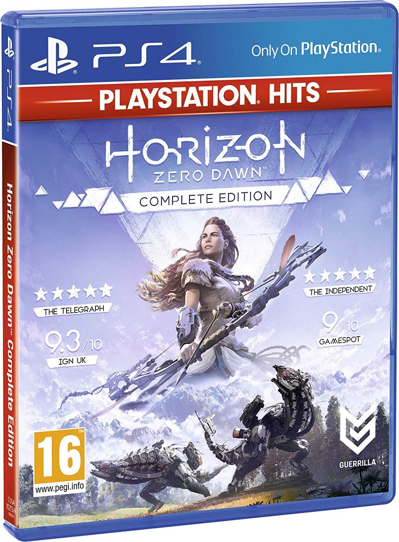 Horizon Zero Dawn Complete Edition PlayStation Hits (PS4) £11.99 + £2.99 NP Amazon