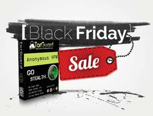 Torguard Black Friday Deal - VPN & Encrypted Cloud Storage (256 AES VPN & 256 AES Dropbox Style Storage) £1.61pm for Life