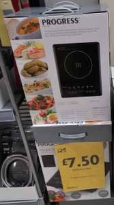 Progress Single Plate Induction Hob - £7.50 Instore @ Morrisons Harrow