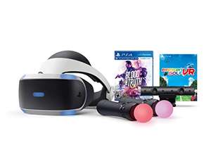 PlayStation VR PSVR + Move Controllers + Blood & Truth + Everybody's Golf £266.37 @ Amazon US inc import fees & shipping (£255.49 fee free)