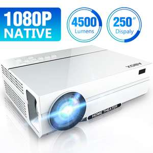 Native 1080p Projector ABOX at Amazon for £94.49 - Sold by ABOX Home / Fulfilled by AMazon