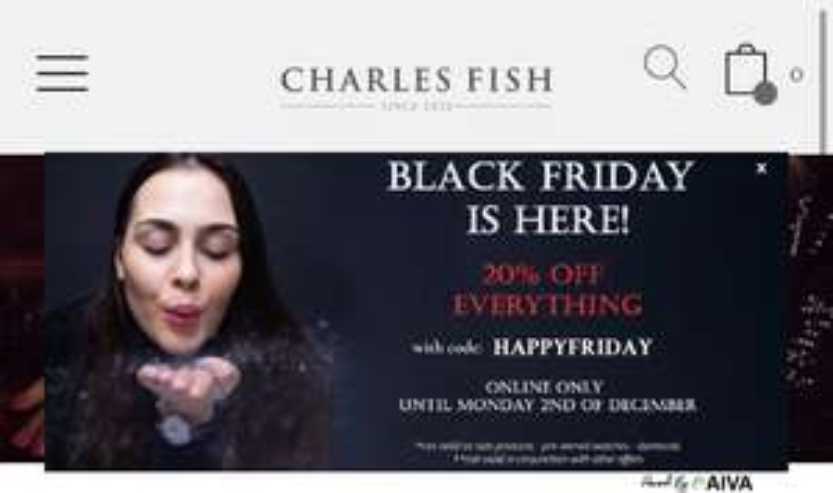20% off Charles fish