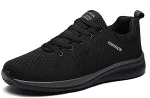 New Mesh Men Casual Shoes Lac-up Men Shoes Lightweight Comfortable Breathable Walking Sneakers - £7.67 @ Ali Express / PUAMSS