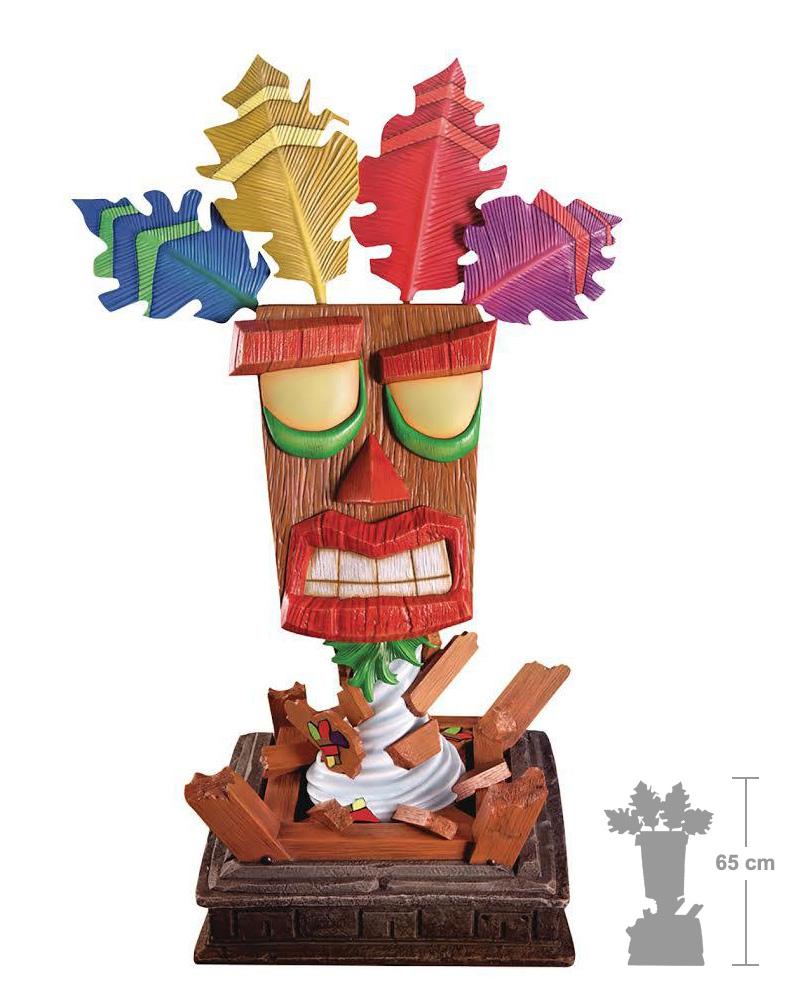 Crash Bandicoot Aku Aku Life-Size Mask (First4Figures) - £139.99 @ Playstation Gear