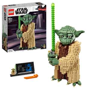 LEGO 75255 Star Wars Yoda Construction Set, Collectable Model with Display Stand, The Attack of the Clones Collection £62.97 @ Amazon