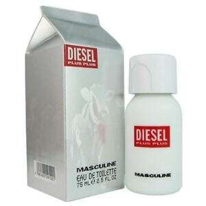 DIESEL Plus Plus Masculine 75ml EDT Spray Retail Boxed Sealed £13.95 @ Perfume Shop Direct Ebay