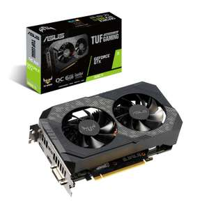 Asus Nvidia GeForce GTX 1660 Ti 6GB TUF Gaming OC £209.09 + free delivery @ Scan
