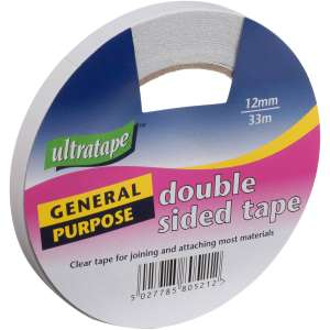 24 rolls of double sided tape £13.50 delivered with code (£9.00 with click and collect) @ Hobbycraft