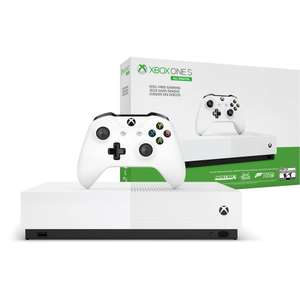 Xbox One S 1TB Digital + Minecraft, Sea of Thieves & Fortnite £84.38 delivered @ Microsoft Store Germany