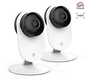 Yi 2pc 1080P Home Camera £40.29 - Sold by Seeverything UK and Fulfilled by Amazon