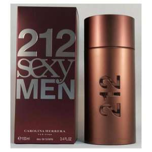 Carolina Herrera 212 Sexy EDT Spray 100ml £33.48 delivered with Code at Fragrance Direct