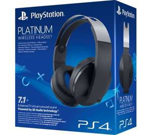 Platinum headset PS4 £75 click and collect £75 using code + free Click & Collect @ Very