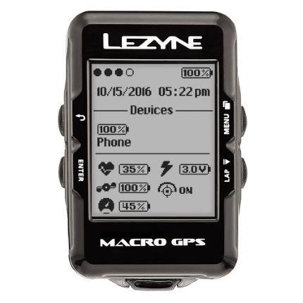 Lezyne Macro GPS bike computer £49.99 @ Wiggle