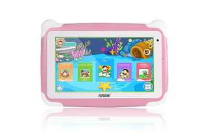 "Fusion5 7"" KD095 Kids Tablet PC - 64-bit Quad-core, Android 8.1 Oreo £35 with code Sold by F5CS LTD and Fulfilled by Amazon."