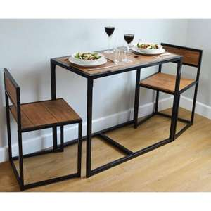 Small space Dining set £54.99 @ RINKIT.com (£51.15 as new customer)