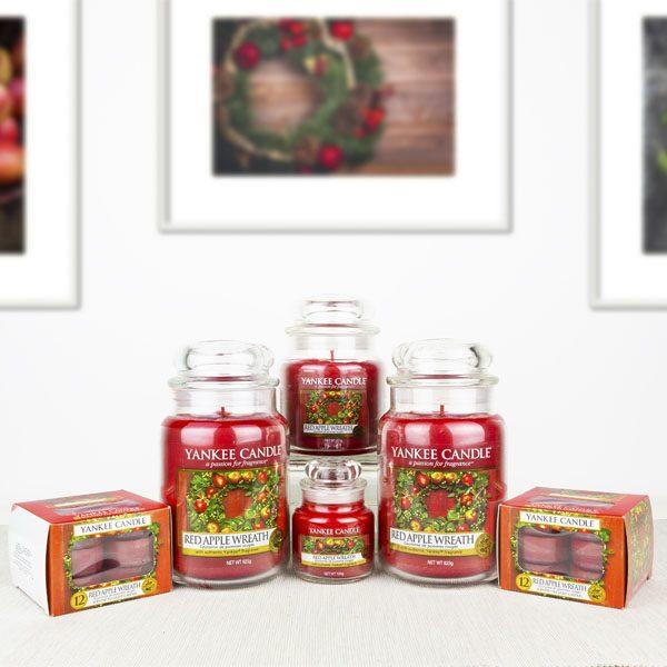 red apple wreath 28 piece selection box £35 @ Yankee bundles
