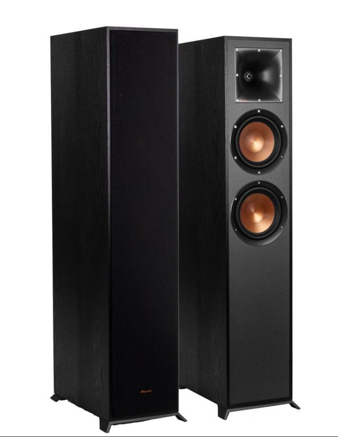 Klipsch Reference R-620F Black Floorstanding Speakers (Pair) £621.10 @ Audio visual online
