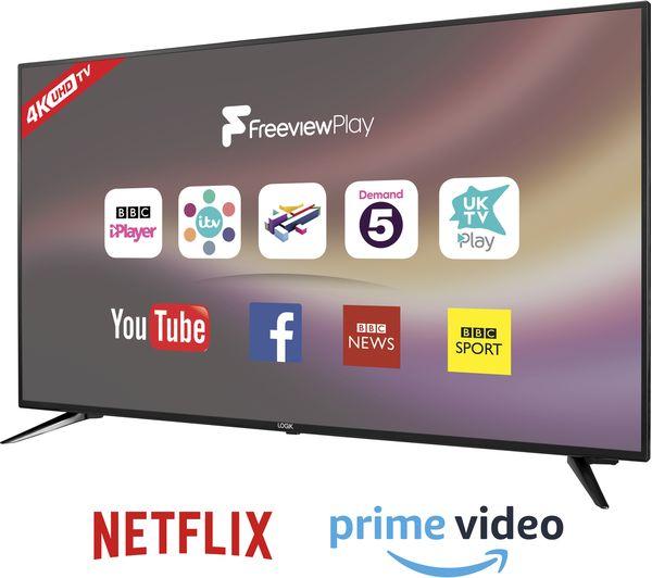 LOGIK 65 inch 4K HDR Smart TV £399.99 @ Currys PC World