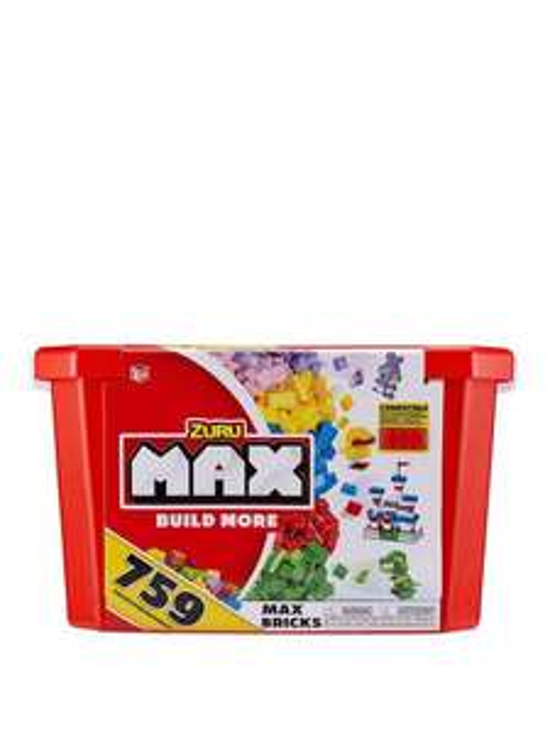 Zuru MAX Build More Construction Value Brick Box - £12.99 + free Click and Collect @ Very