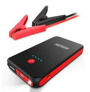 8000mAh External Battery Charger Car Jumper for 12V £28.89 - Sold by ARTECK and Fulfilled by Amazon.