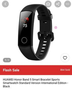 HUAWEI Honor Band 5 Smart Bracelet Sports Smartwatch Standard Version International Edition - Blue £20.80 Gearbest