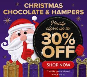 Up To 30% Off On Christmas Chocolate and Hampers @ Cadbury Gifts Direct