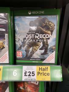 Ghost Recon - Breakpoint XBOX ONE £25 @ Tesco