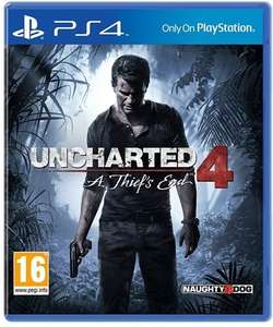Uncharted 4 (PS4) £6 used instore (+£1.50 delivered) @ Cex